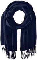 La Fiorentina Women's Cashmere-Blend Scarf with Fringe