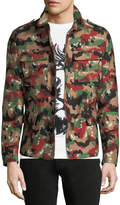 Valentino Camouflage Cargo Jacket