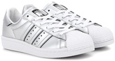 adidas Superstar Boost metallic faux leather sneakers