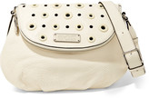 Marc by Marc Jacobs Natasha embellished textured-leather shoulder bag