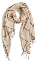 Nordstrom Plaid Cashmere & Wool Scarf