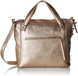 Liebeskind Berlin Women's Boweryf8 Leather Satchel with Front Pocket Moonlight
