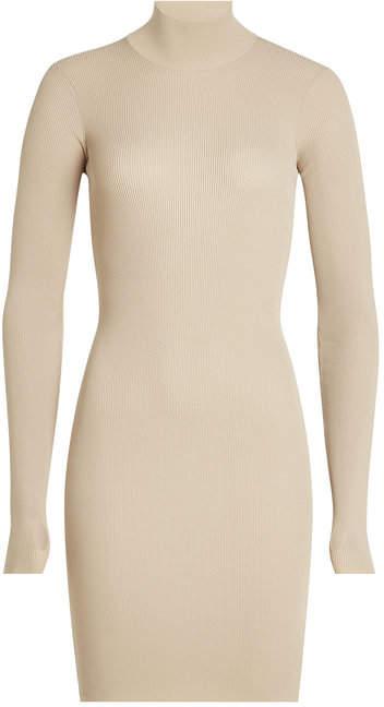 Yeezy Ribbed Turtleneck Dress