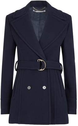Stella McCartney Wool Belted Coat