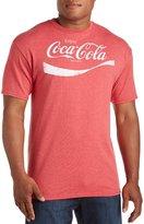 True Nation Classic Coke Logo Big & Tall Short Sleeve Graphic T-Shirt