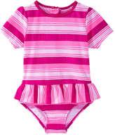 Joe Fresh Toddler Girls' x lemlem Rashguard, Bright Pink (Size 5)