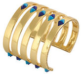 House Of Harlow 1960 The Flip Side 14K Goldplated Statement Cuff