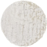 Freya Weave & Wander Rug, White, 10' Round