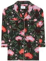 Erdem Ray Floral-printed Silk Blouse