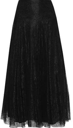 RED Valentino Chantilly Lace Maxi Skirt