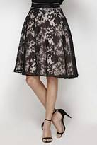 Yumi Floral Shadows Skirt