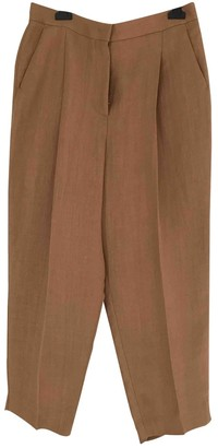 Sportmax Brown Trousers for Women