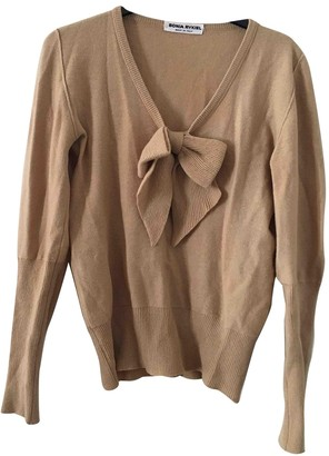 Sonia Rykiel Beige Wool Knitwear for Women