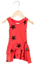 Nununu Girls' Star Print Sleeveless Dress