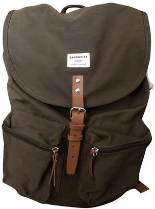 SANDQVIST Khaki Cotton Backpacks