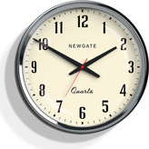 Newgate Clocks - Large Mechanic Clock - Chrome