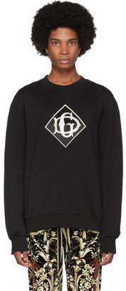Dolce & Gabbana Black Logo Sweatshirt