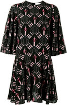 Valentino Love Blade print dress - women - Silk - 40
