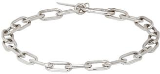 Sophie Buhai Silver Rectangular Chain Bracelet