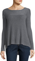LAmade Ribbed-Trim Pullover Sweater