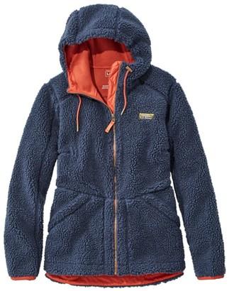 L.L. Bean Women's Mountain Pile Fleece Hoodie