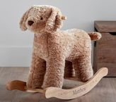Pottery Barn Kids Kid Fur Plush Rocker - Labradoodle
