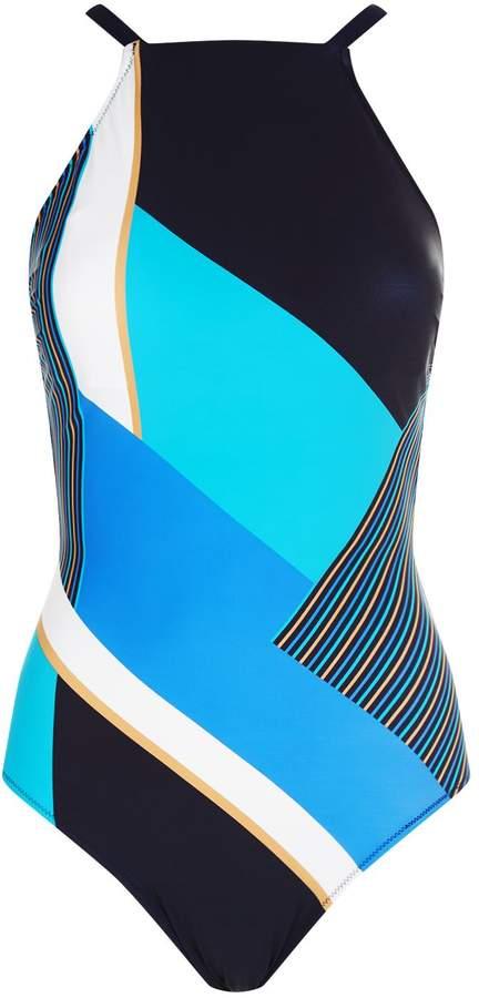 Gottex Striped Swimsuit