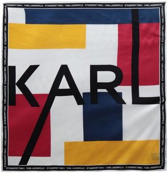 Karl Lagerfeld Paris Square scarves
