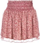 Vanessa Bruno floral print mini skirt