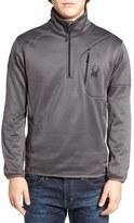 Spyder Men's Stand Collar Fleece Pullover
