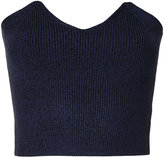 H Beauty&Youth ribbed bodice sweater