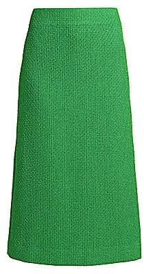 Marc Jacobs Women's Tweed Straight Skirt