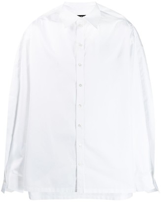 Y/Project ruffle-hem shirt
