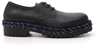 Balenciaga Braided Sole Lace-Up Shoes
