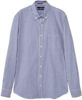 Mango Slim-fit Bengal Stripe Shirt