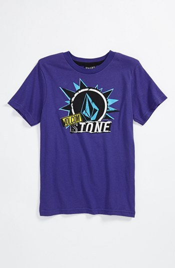 Volcom 'Pasted Stone' T-Shirt (Little Boys)