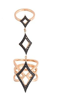 Black Diamond Anapsara 'Oneness' ring
