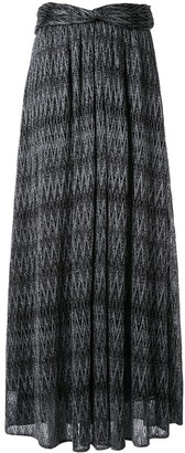 Missoni Zigzag Maxi Skirt