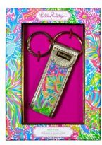 Lilly Pulitzer Lover's Coral Key Fob