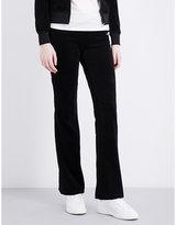 Juicy Couture Paisley Flourish velour jogging bottoms
