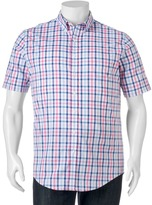 Croft & Barrow Big & Tall True Comfort Classic-Fit Stretch Button-Down Shirt