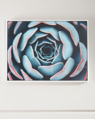 "Four Hands Art Studio ""Close-Up"" Photography Print on Canvas Framed Handmade Wall Art"