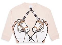 Burberry Girls' Lilia Unicorn Sweatshirt - Little Kid, Big Kid