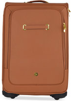 "Joy Mangano Christie 28"" XL Leather Suitcase With SpinballTM Wheels"