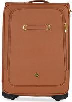 "Joy Mangano Christie 28"" XL Leather Suitcase With SpinballTM Wheels"
