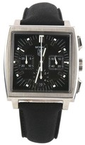 Tag Heuer Monaco CW2111 Stainless Steel & Leather 37mm Watch