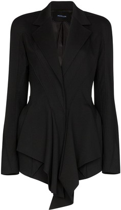 Thierry Mugler Draped Fitted Blazer
