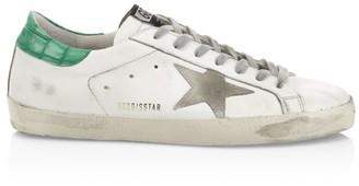 Golden Goose Men's Superstar Leather Low-Top Sneakers