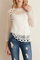 Entro Hand Crocheted Top
