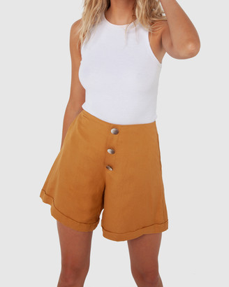 Madison The Label - Women's High-Waisted - Charlotte Shorts - Size One Size, 6 at The Iconic
